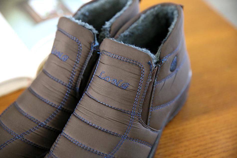 발등을 다 덮고 발목을 감싸주는 디자인이라...더욱 따뜻합니다.