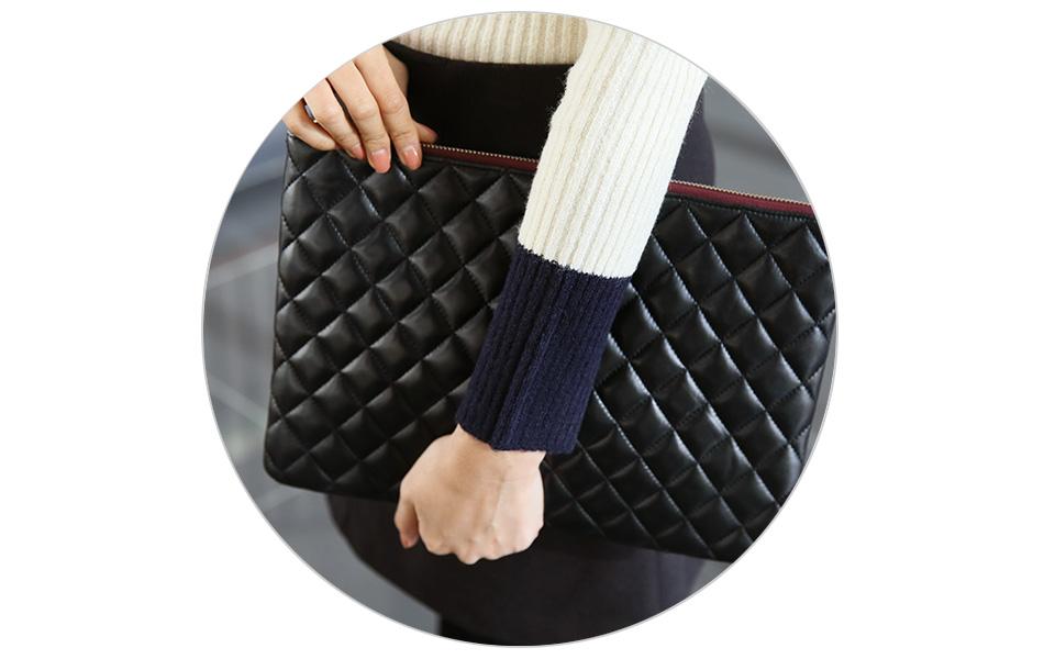 소매단은 손목이 가늘어 보이게 배색이 길어요^^