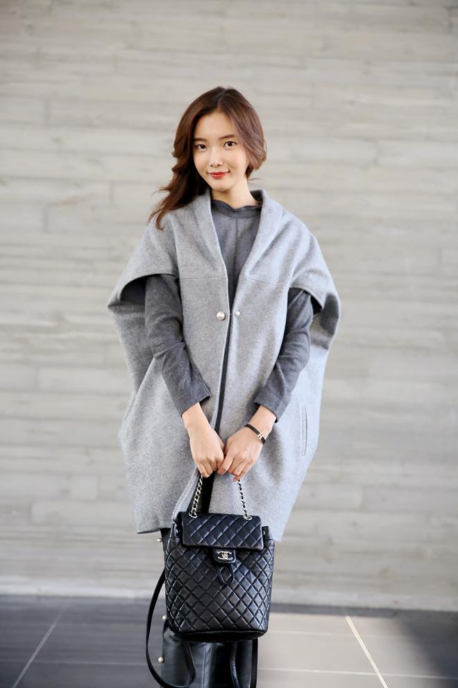 (예뻐) 망토 스타일의 자켓이예요 ^^