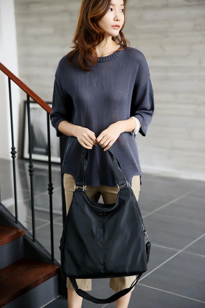 아기 기저귀 가방으로 써도 손색이 없는 아이템^^