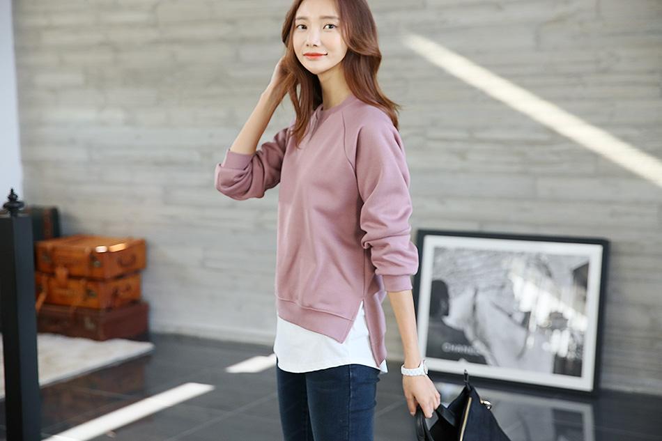 핑크 : 톤다운된 핑크로 여성스러운 분위기내기 (예뻐)