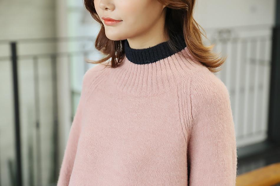 핑크 + 네이비