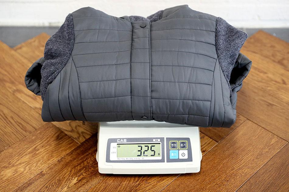 면바지와 같은 경량 무게감^^ 325g.