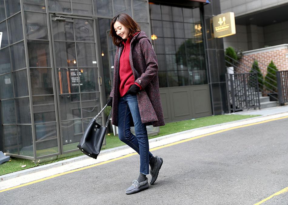 추운겨울도 따뜻하게 입기 좋은 기모안감:)