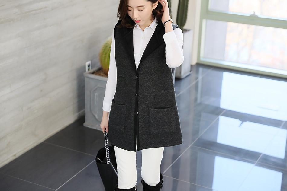 자켓, 코트 안에 이너로 활용하기 좋고, 사무실 안에서 착용하기 좋답니다 (짱)
