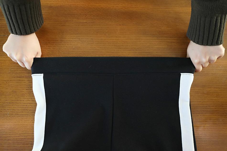 짱짱한 신축성으로 편안한 허리 밴딩 (신축성)