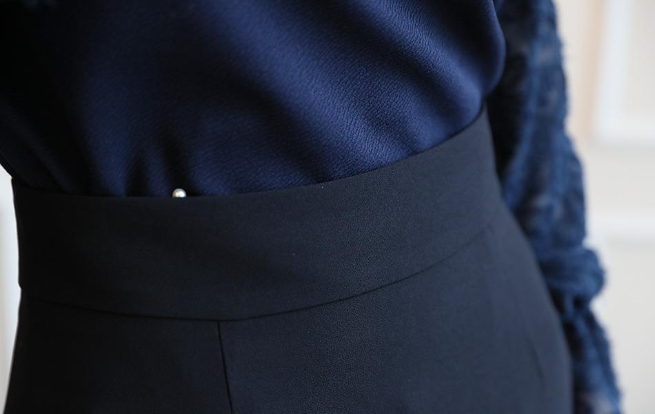 5.5cm 두께의 허리라인.