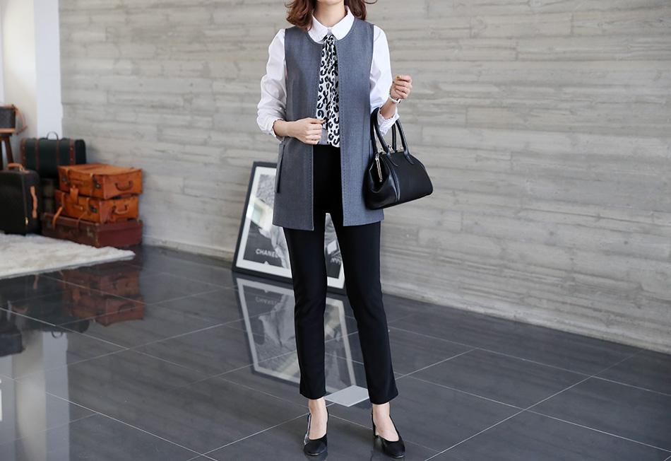 출근복으로 입기 좋은 기본 팬츠 (슬림)