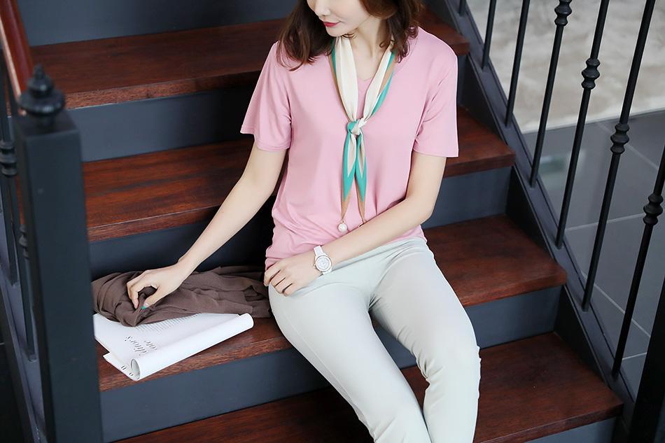 사랑스러운 핑크 색상 (하트)