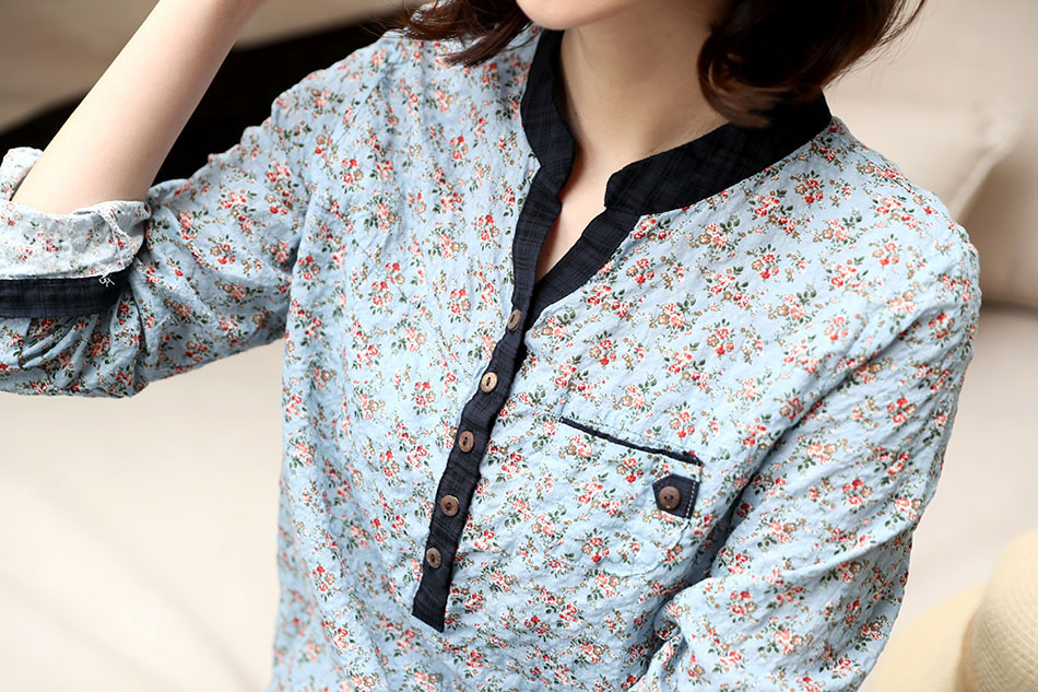 구김이 자연스러운 코튼 셔츠 ^^