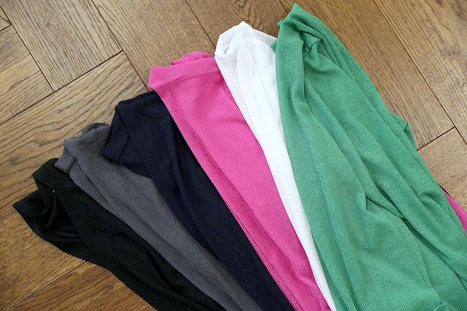 블랙 / 챠콜 / 네이비 / 핑크 / 화이트 / 그린