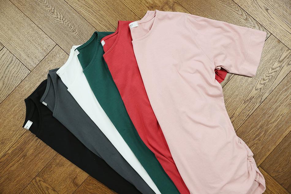 블랙 / 챠콜 / 화이트 / 그린 / 레드 / 핑크