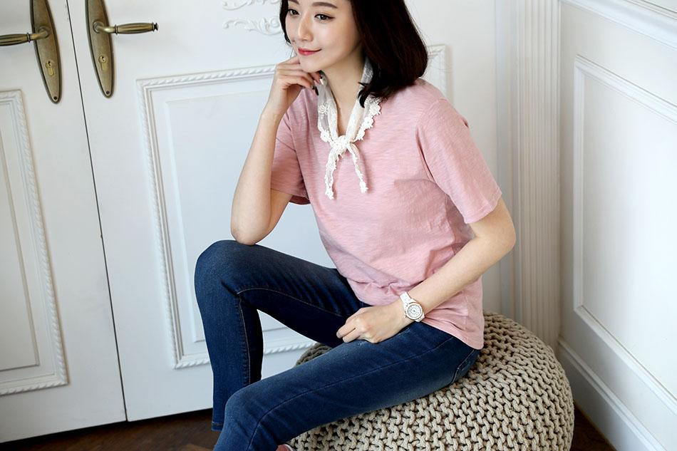 화사한 핑크 색상 (방가)