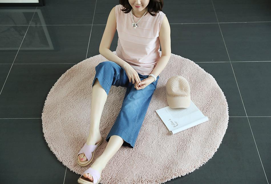 부드러운 톤의 핑크색상 (윙크)