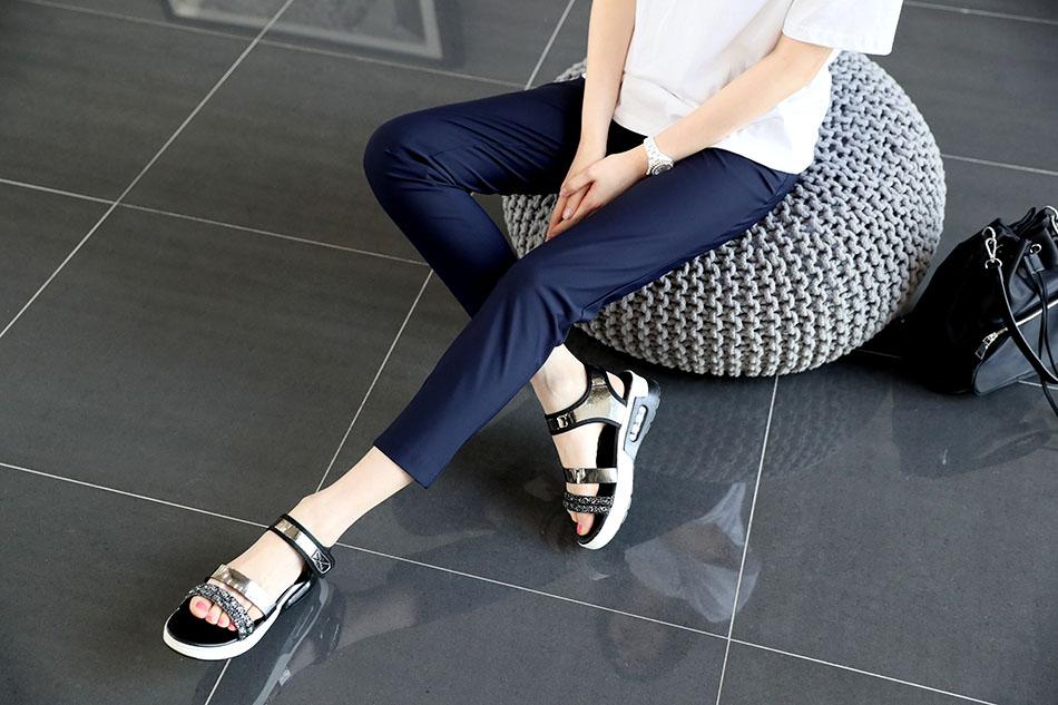 편안하고 날씬해보이기 까지한 매력만점 팬츠 (샤방)