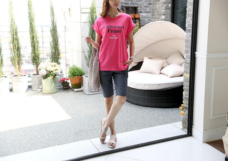 톡톡 튀는 컬러감이 매력적인 티셔츠!