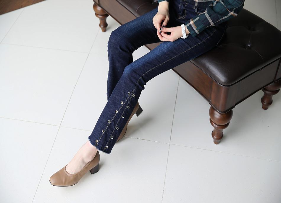 다리라인을 더 길어보이게 하는 부츠컷 스타일^ ^(날씬)