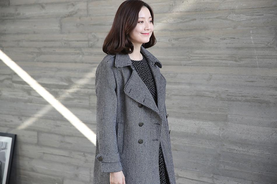 툭 걸치기만해도 멋스러운 헤링본코트 ^ ^(고급)