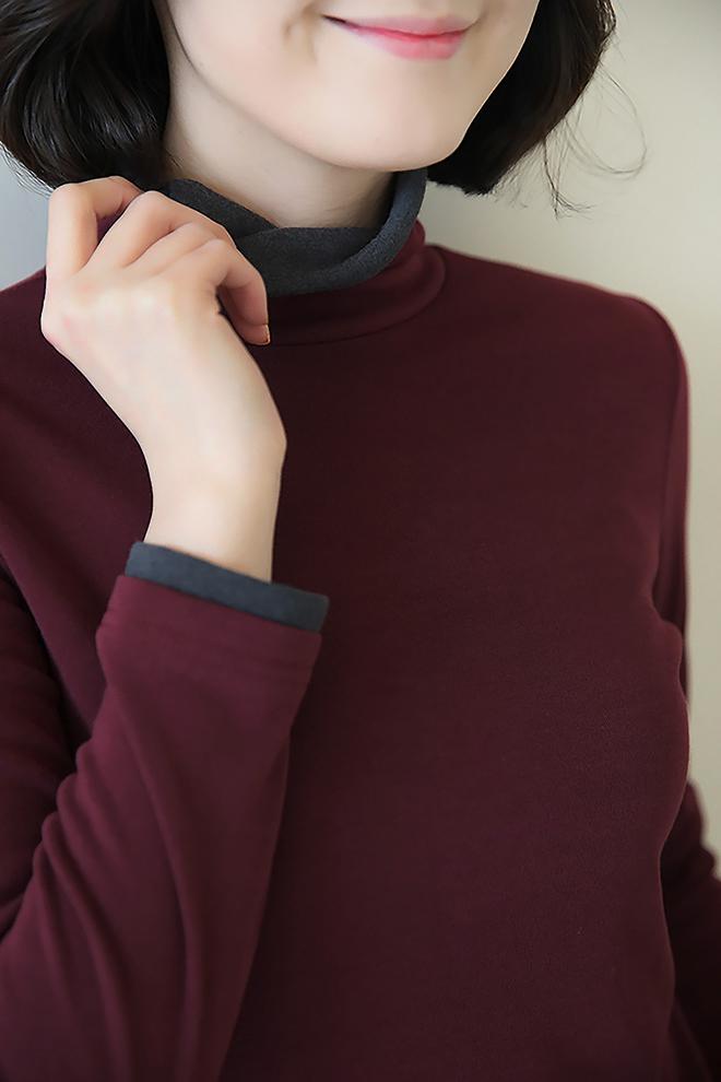 가을, 겨울 꼭 필요한 기본 티셔츠