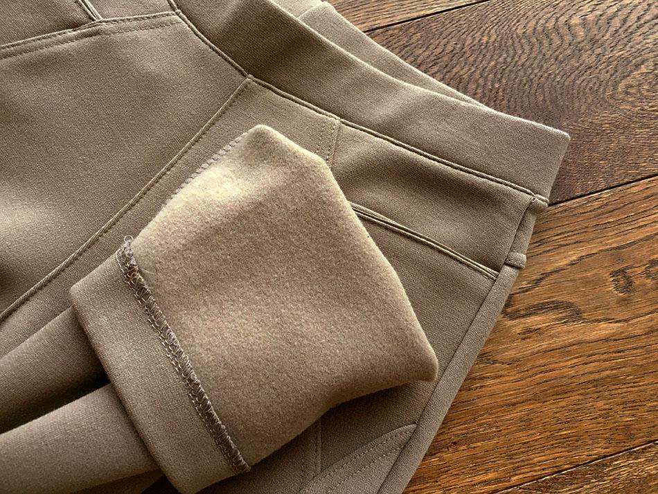 따뜻한 기모팬츠, 슬림하게 입으세요 ^^