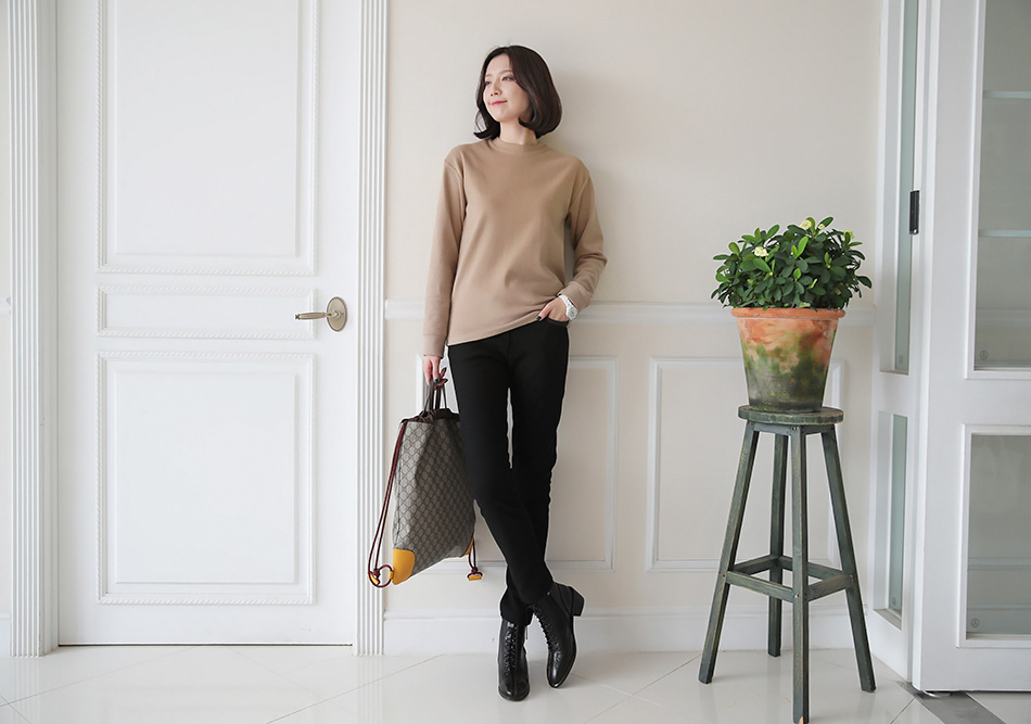 날씬하고 따뜻하게 입을 수 있는 팬츠^ ^(따봉)