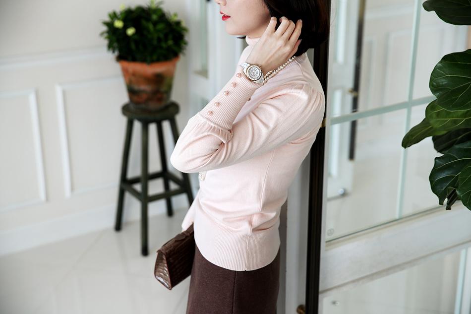정말 연~~한 핑크빛이 도는 연핑크 컬러 랍니다 ^ ^(예뻐)