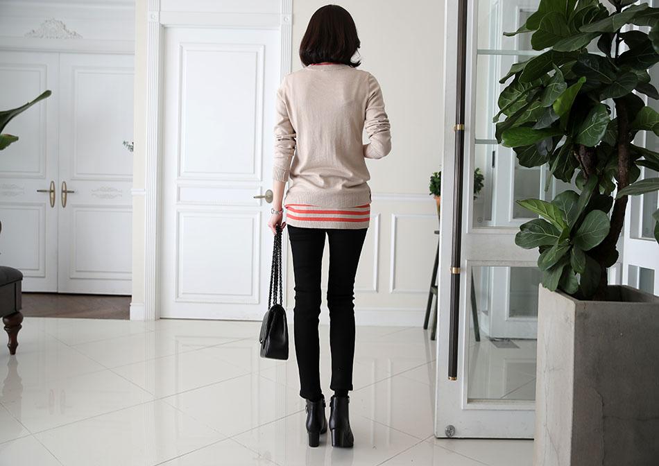 데일리로 입기 좋은 베이지컬러 : )