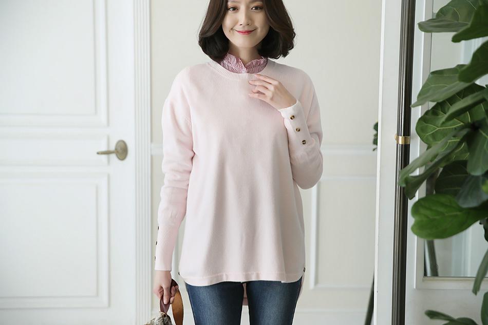 부드러운 솜사탕 같은 연한 핑크 컬러 : )(우아)