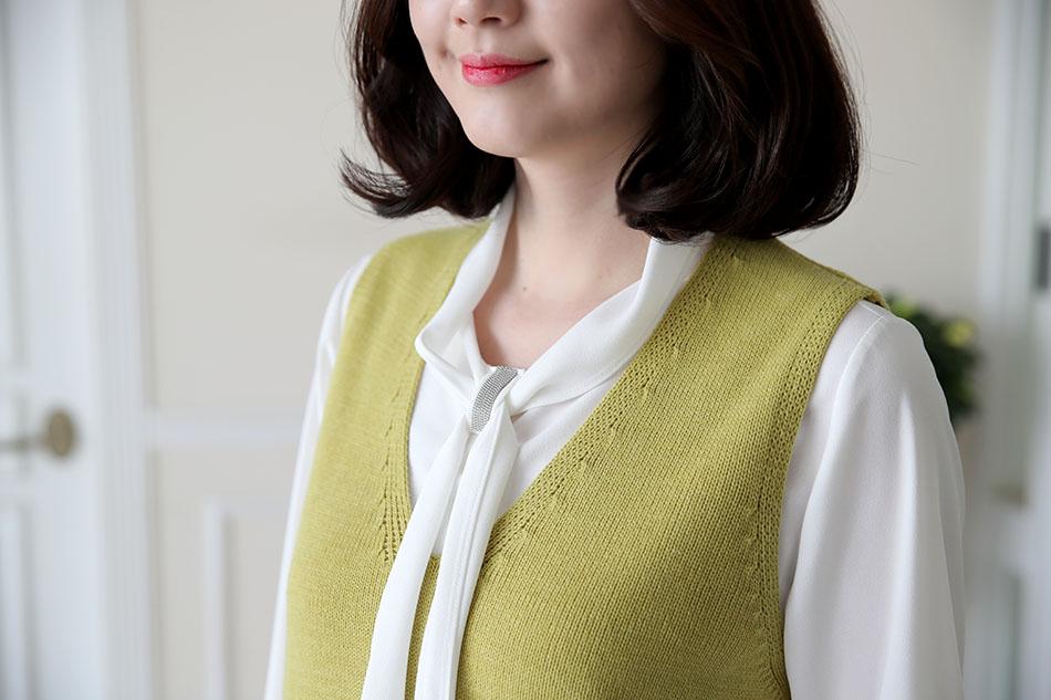 '야옹이 니트롱조끼' 와 코디해도 굿!(따봉)