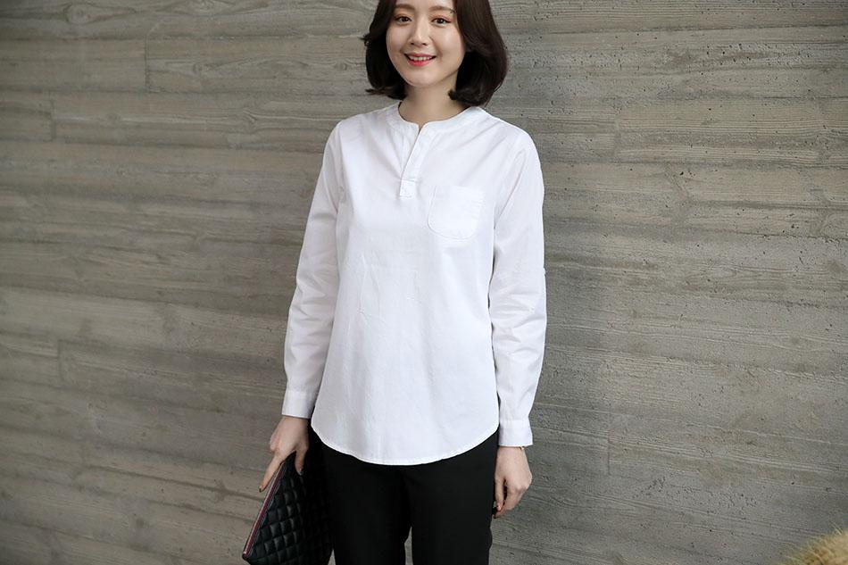 부담없이 입기 좋은 만능 데일리셔츠 ♥(좋아)
