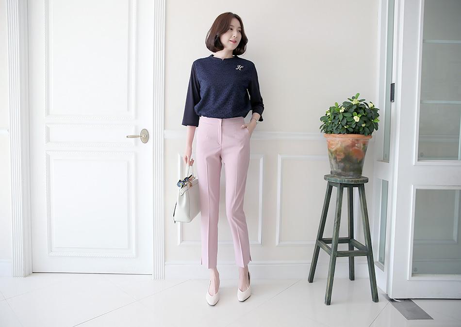 포인트룩으로 좋은 핑크 : )