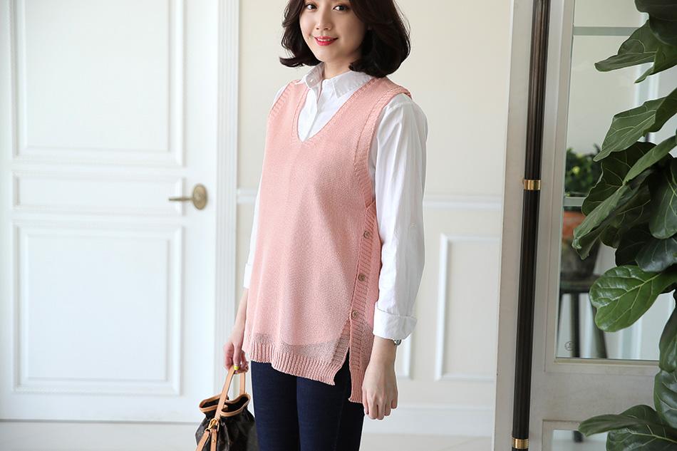 포인트룩으로도 좋은 핑크 : )