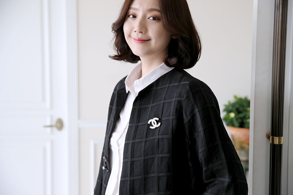 코튼+린넨 소재라 여름까지 쭉~(하트)