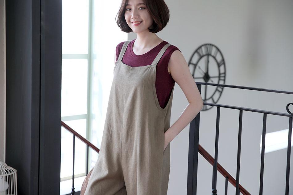 '햇살처럼 점프슈트'와 입었어요 ^.^