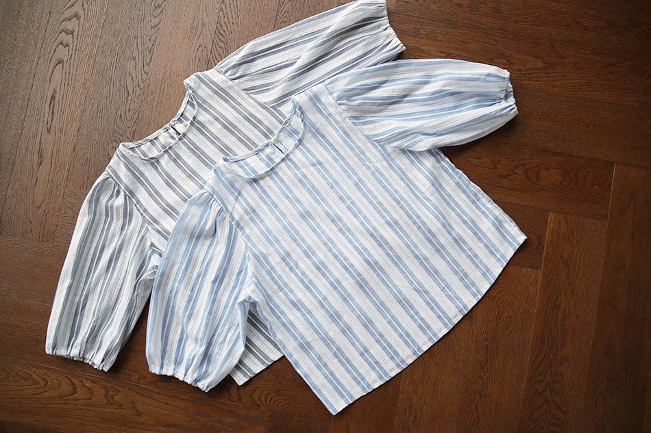 언제든 입기 좋은 스트라이프  패턴 : )