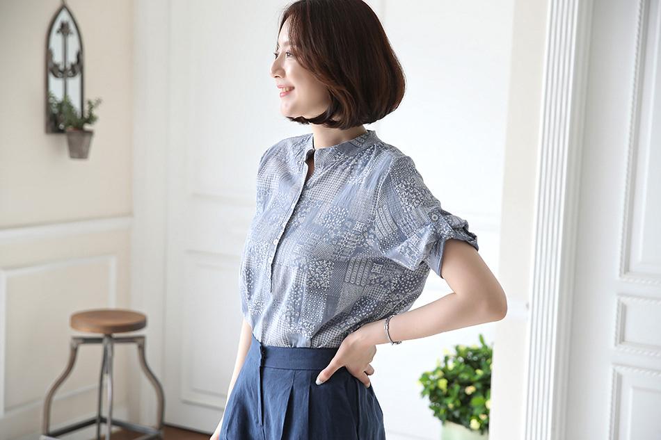 자연스럽게 입기 좋은 코튼셔츠 ♥
