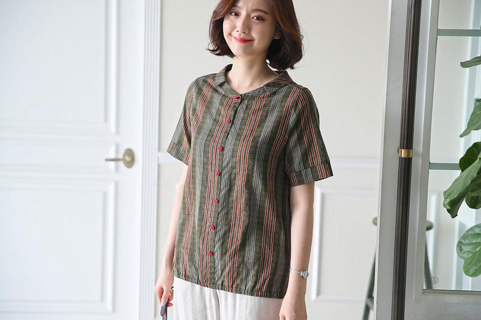 세련된 패턴과 디자인의 셔츠 (좋아)