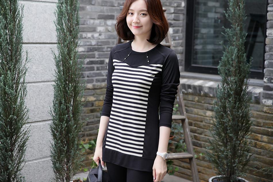 날~씬해 보이는 스트라이프티셔츠 ^ ^(대박)