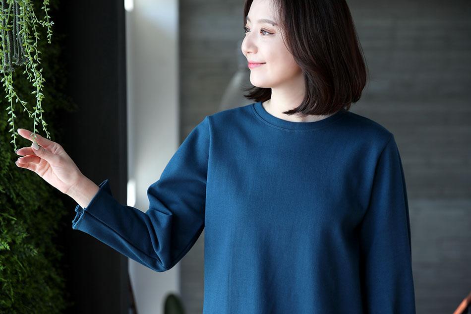 소매불륨이 사랑스러운 기본티셔츠♥