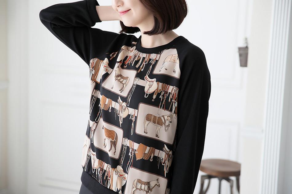 다그닥다그닥 말나염이 매력적인 티셔츠♡
