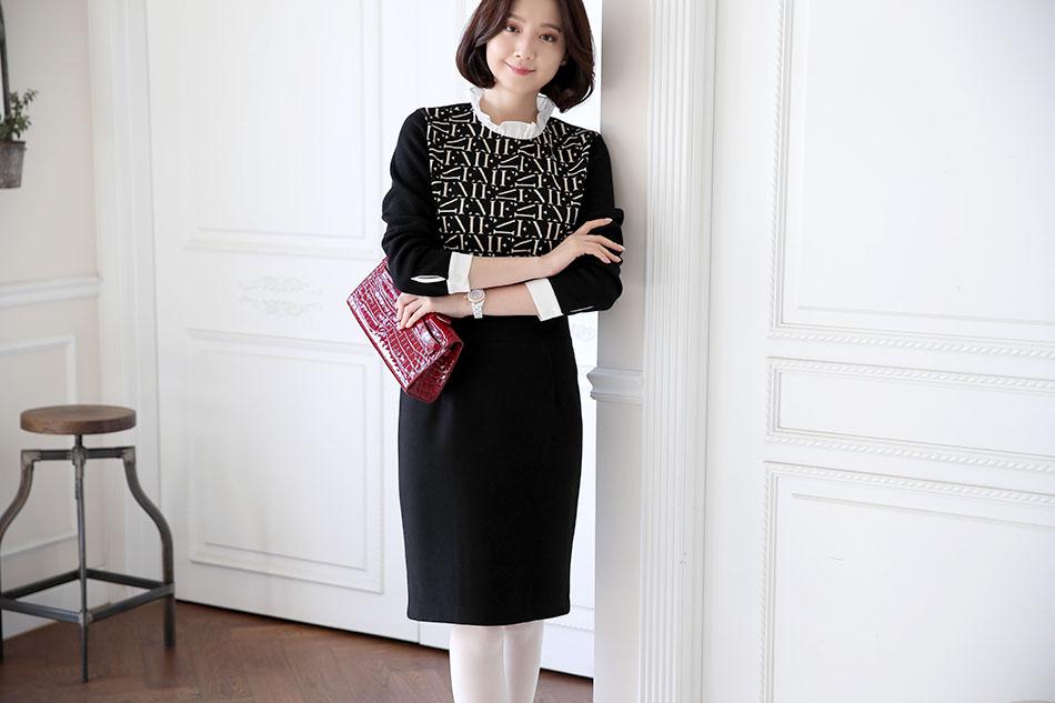 톡톡한 두께감으로 겨울오피스룩의 필수품:)