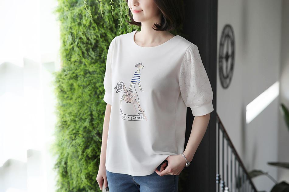 동안룩을 완성시켜줄 티셔츠 ^ ^