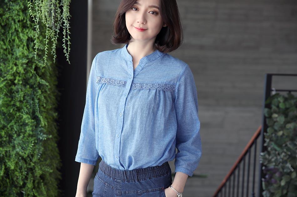화사한 컬러감의 블루 : )