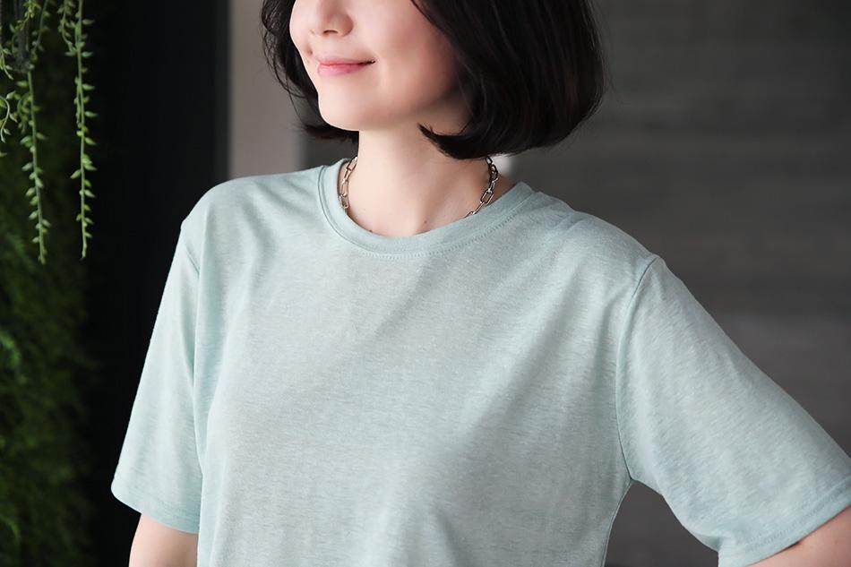 부드러운 린넨소재의 티셔츠 ^ ^