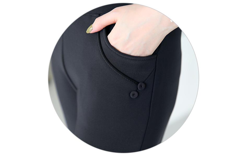 포켓라인 단추장식으로 포인트 ^ ^