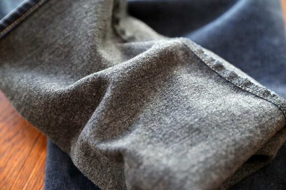 얇은 기모로 가볍지만 따뜻하게^^
