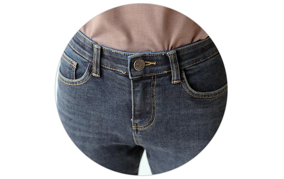 단추 여밈으로 안정감있는 허리