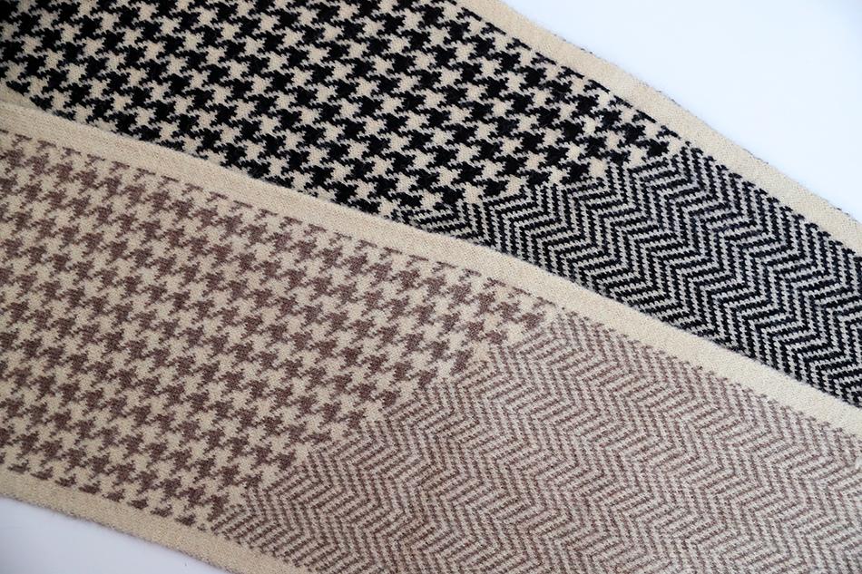 하운드투스와 헤링본, 두가지 패턴!