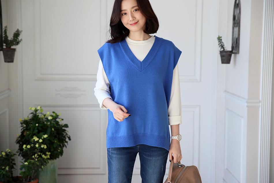 산뜻한 색감의 블루 : )