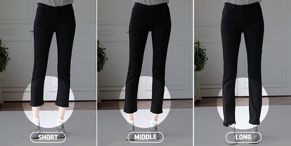 모델 착용 기준의 숏/미들/롱 기장을 확인해보세요^^